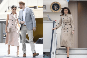 Is Melania Trump Modeling Her Style After Meghan Markle?