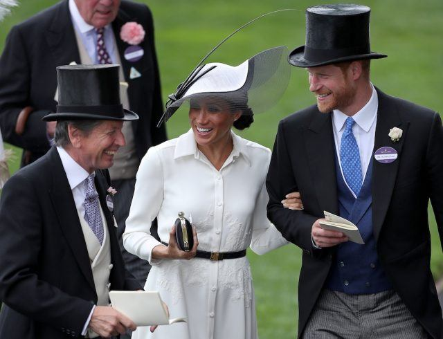 Meghan Markle and Prince Harry at the Royal Ascot