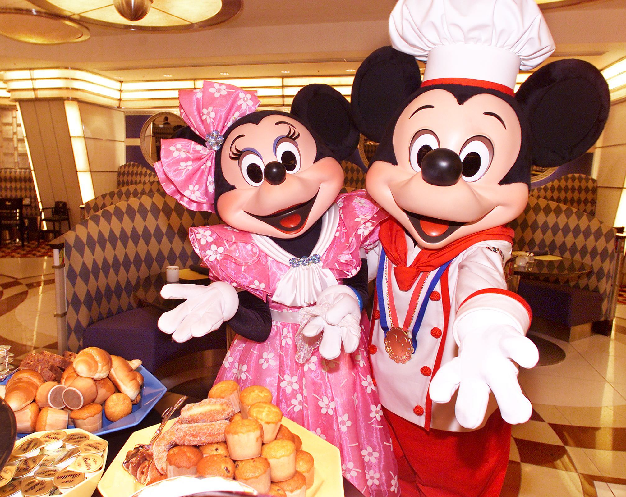 Mickey and Minnie Disneyland