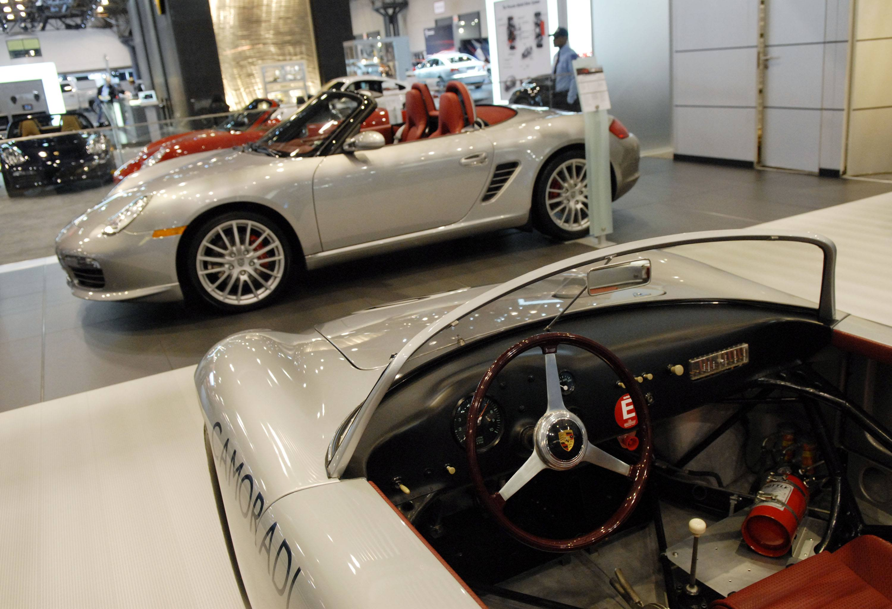 1960 Porsche RS-60 and a Boxster RS-60