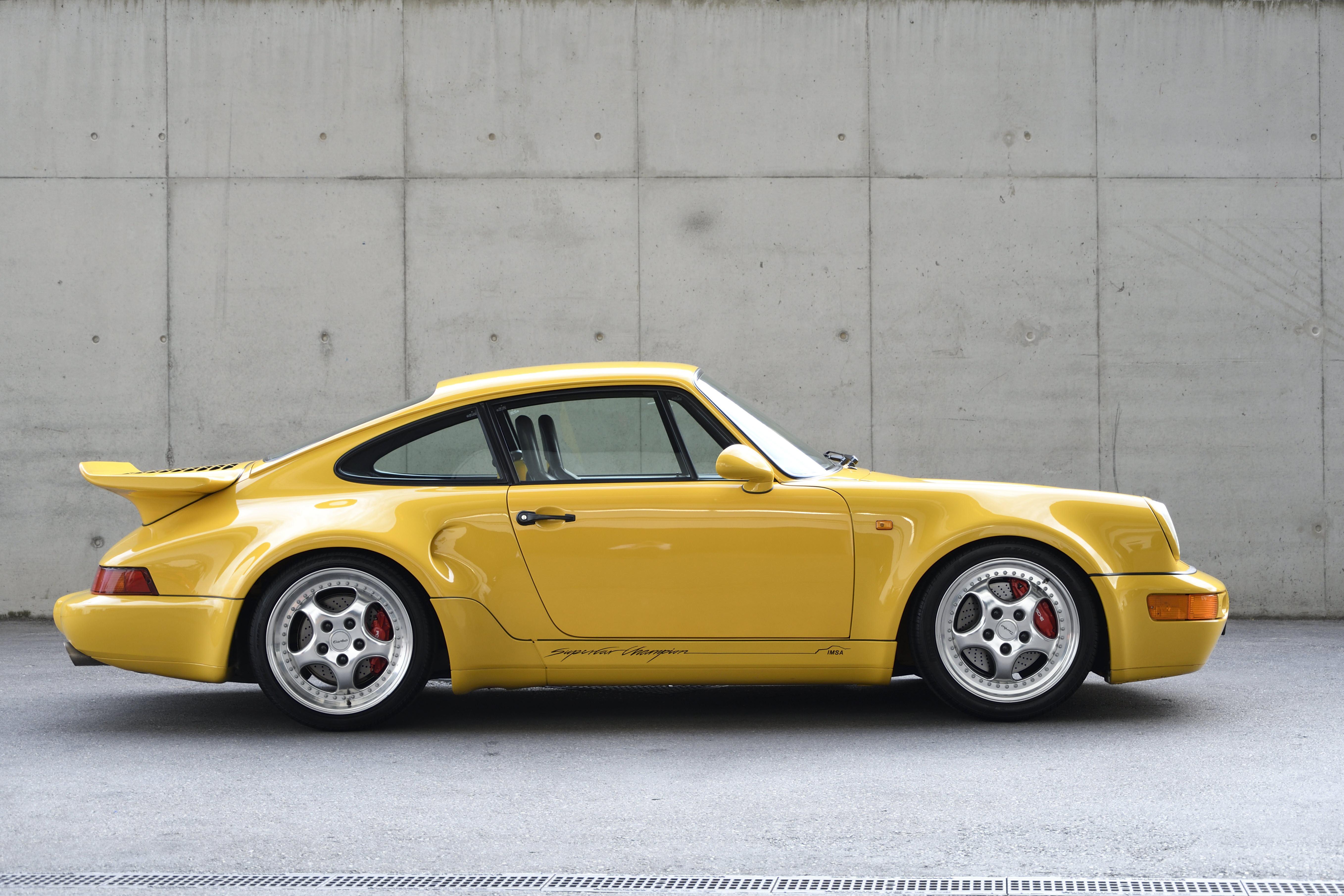 The Porsche 911 Turbo S Leichtbau