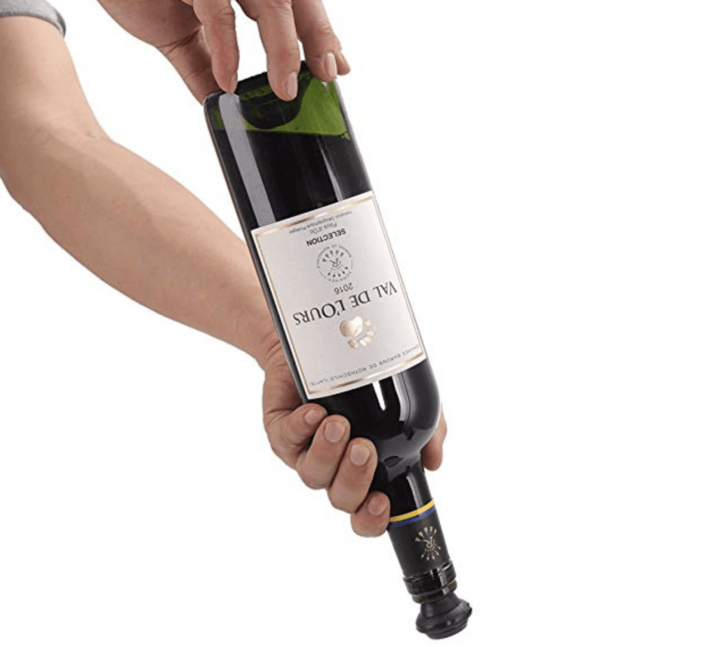 PROIMB Wine Saver Preserver Pump with 4 Vacuum Bottle Stoppers