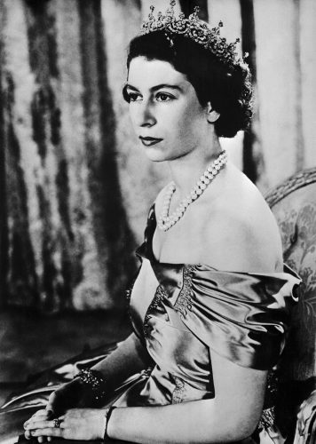 Princess Elizabeth, later Queen Elizabeth II, on her 25th birthday