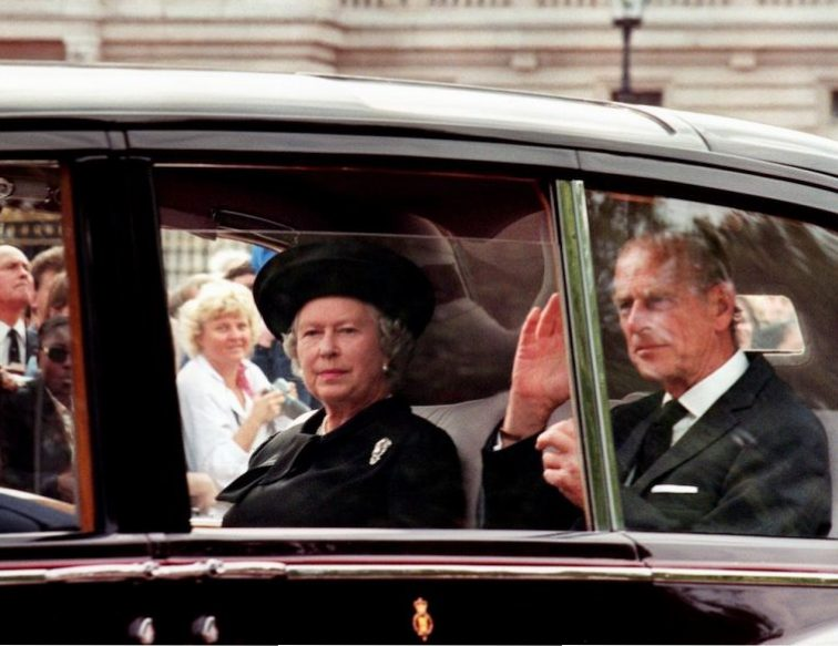 Queen Elizabeth II and the Duke of Edinburgh | Joel Saget/AFP/Getty Images