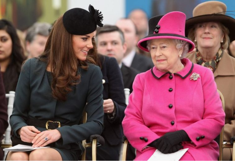 Queen Elizabeth II, Kate Middleton