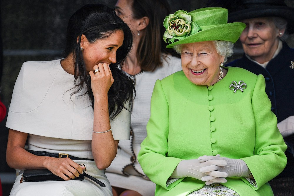 Meghan Markle and Queen Elizabeth II