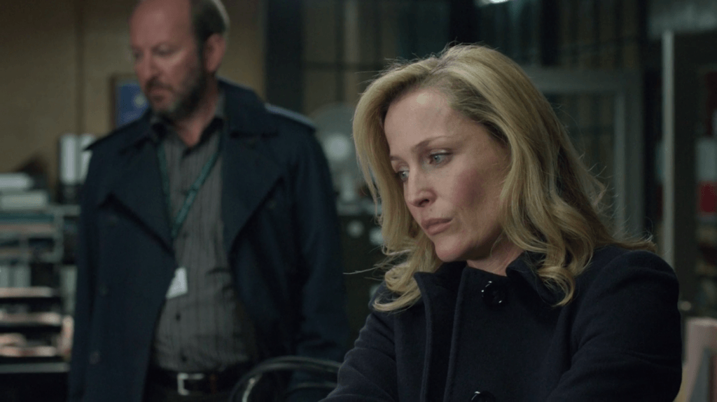 Gillian Anderson in The Fall