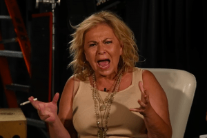 Watch Roseanne Barr Scream About Valerie Jarrett Tweet in New Video