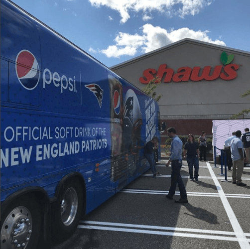 Shaw's grocery store