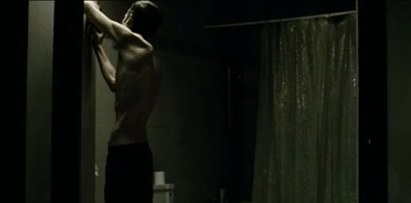"Christian Bale in ""The Machinist"""