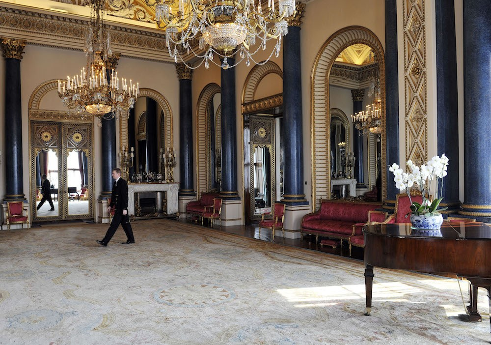 The Music Room at Buckingham Palace