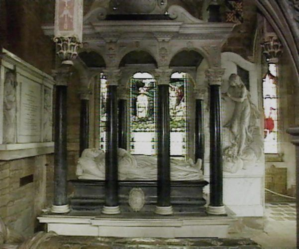the Spencer family mausoleum in Althorp