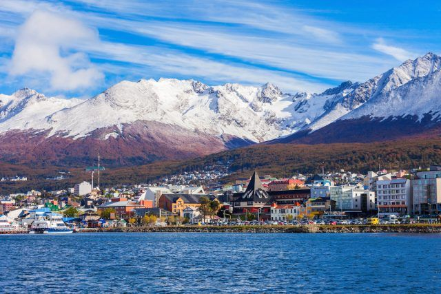 Ushuaia is the capital of Tierra del Fuego province in Argentina.
