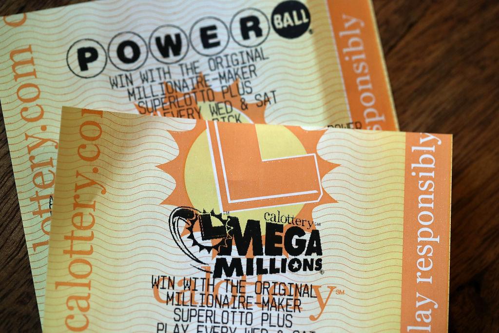 Mega Millions Lottery ticket