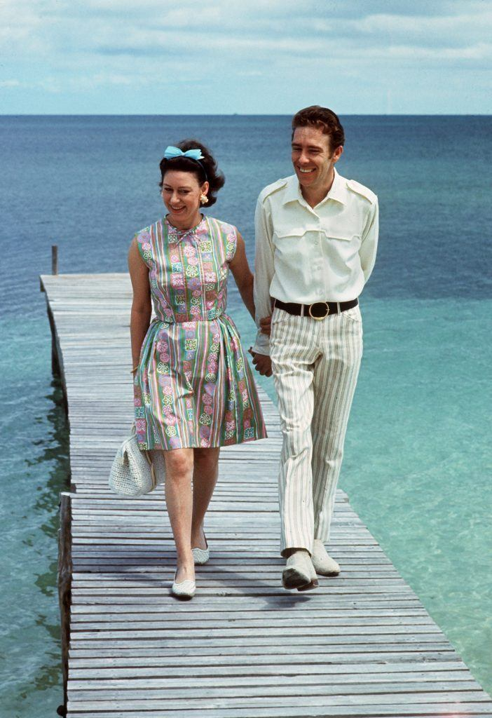 Princess Margaret with her husband