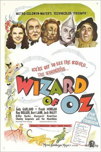 The Wizard of Oz movie poster