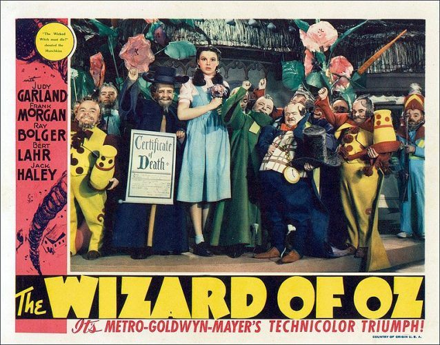 Lobby card Wizard of Oz