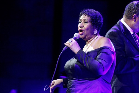 Aretha Franklin attends the Candie's Foundation 2011 event to prevent benefit gala at Cipriani 42nd Street on May 3, 2011 in New York City
