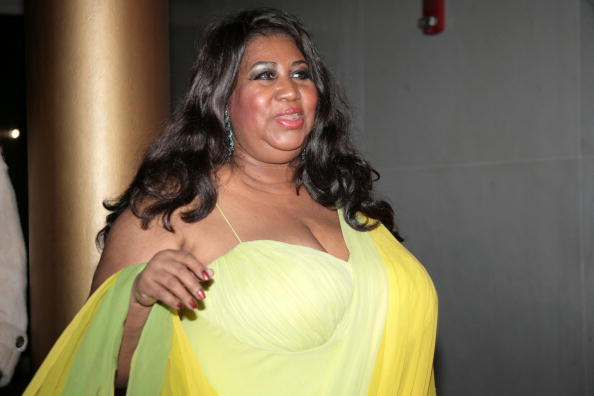 Aretha Franklin arrives at the 30th Annual Kennedy Center Honors December 2, 2007 in Washington, DC