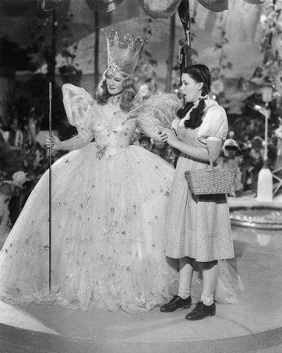 Billie Burke and Judy Garland