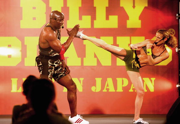 Billy Blanks Performs his Tae Bo
