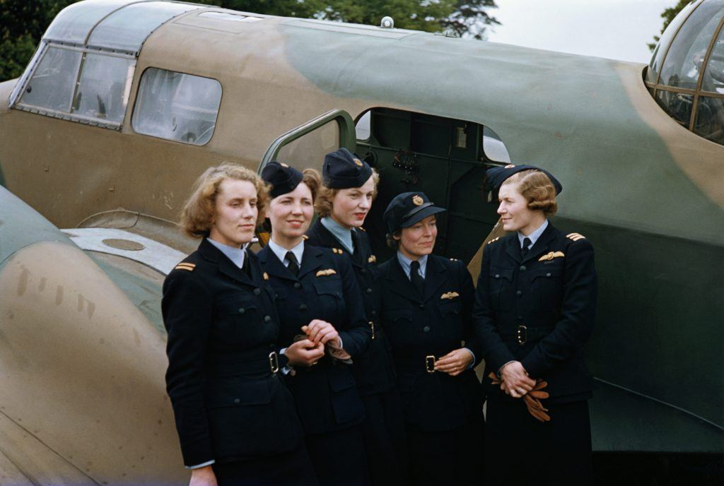 Women pilots of the Air Transport Auxiliary (ATA), circa 1943