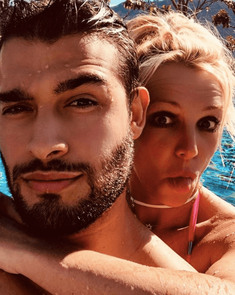 Britney Spears and Sam Asghari