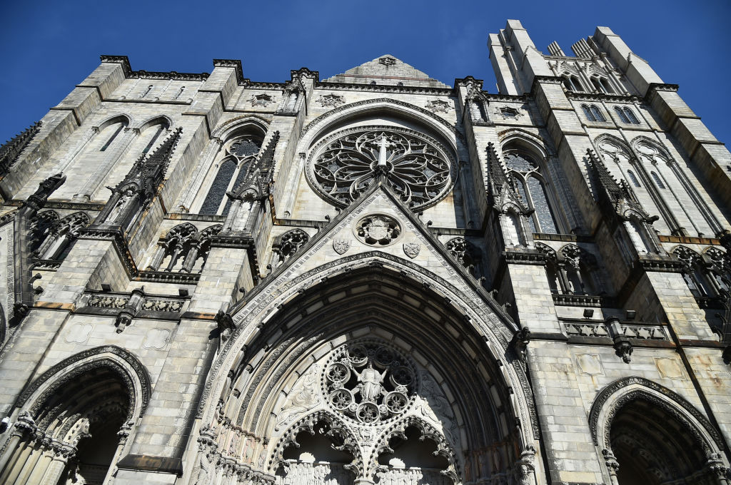 The Cathedral of St. John the Divine in New York City.