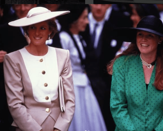 Princess Diana and Duchess Sarah Ferguson