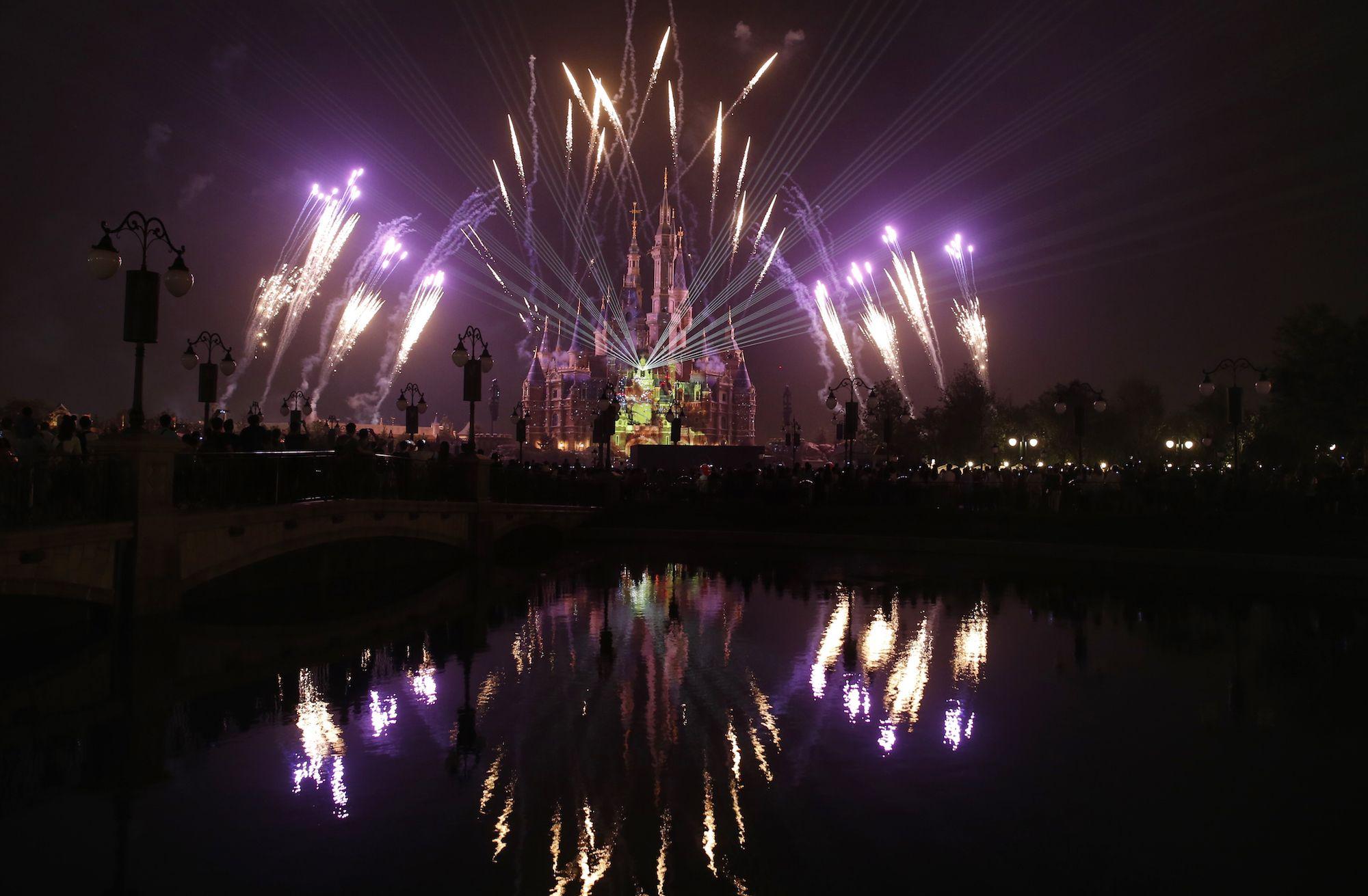 Disney fireworks, Disneyland, Walt Disney World