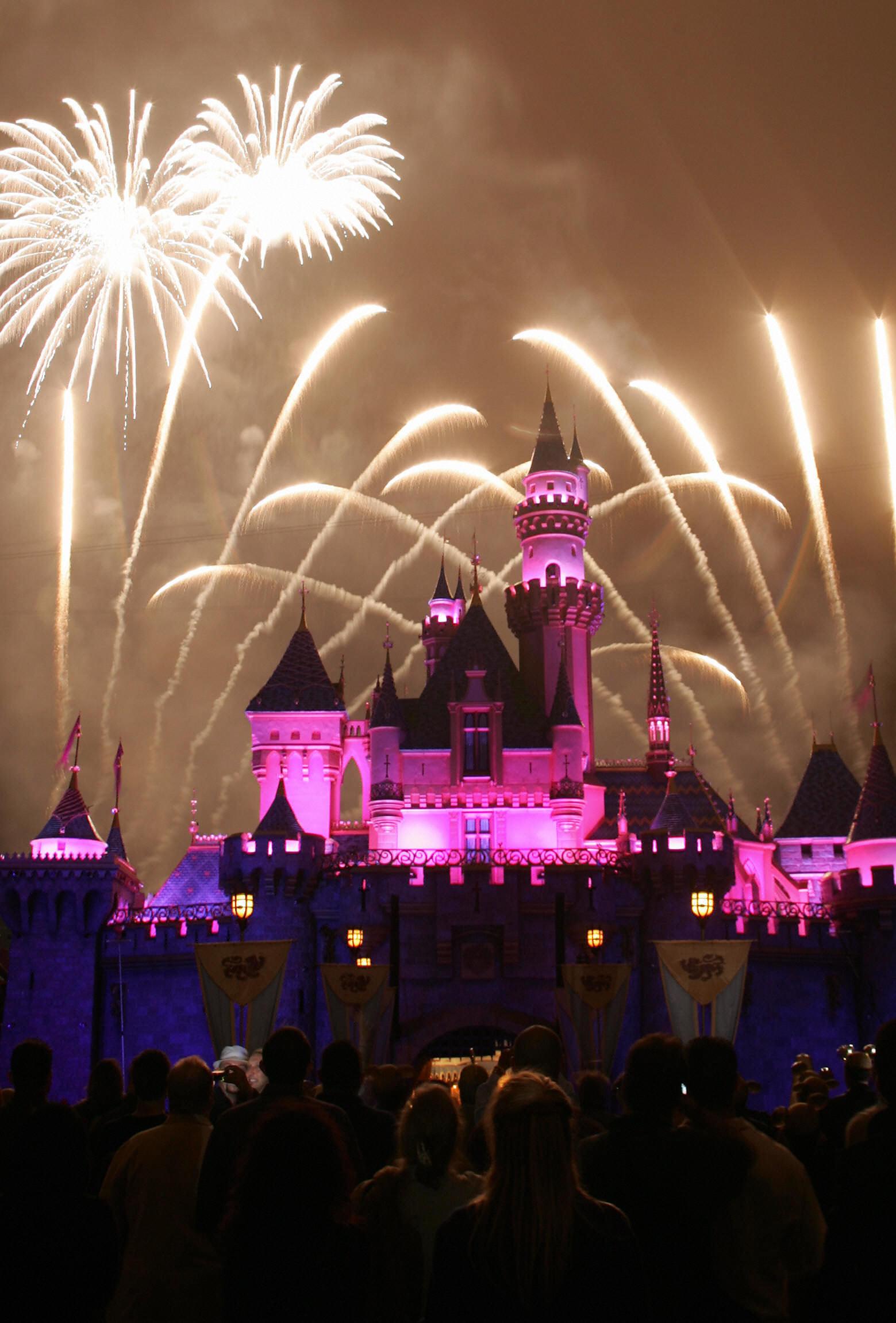 Disney fireworks, Disneyland, Disney World