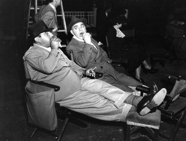 Director Eddie Cantor with Norman Taurog in 1934