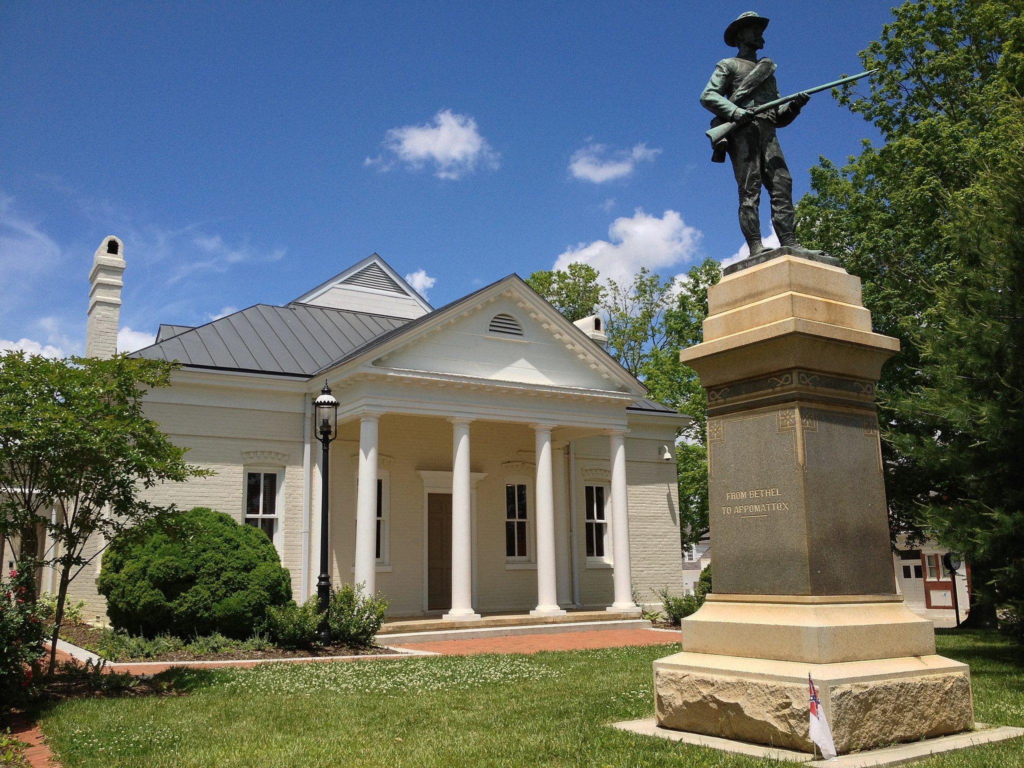 Mecklenburg County Courthouse in Boydton, Va.