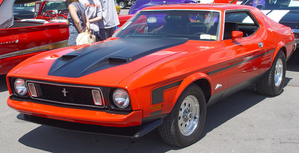 Ford Mustang-1973 Ford Mustang