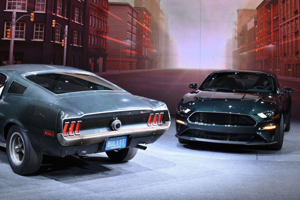 The 2019 Ford Mustang Bullitt (R