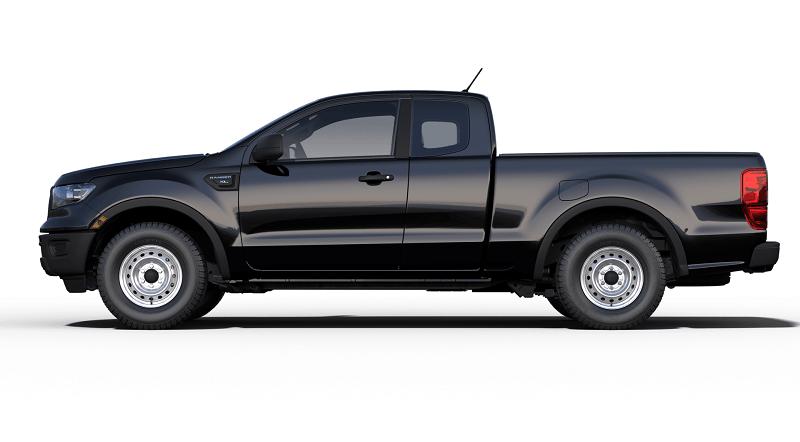 A 2019 Ford Ranger Xl Base Model In Shadow Black