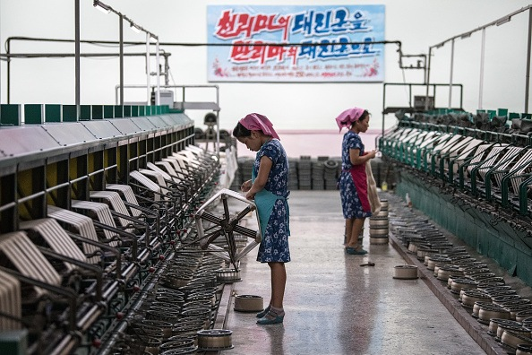 Women working in North Korea