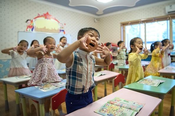 Children in North Korea