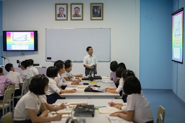 Teacher in North Korea
