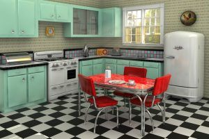 This is What the Average American Kitchen Looked Like Over the Years