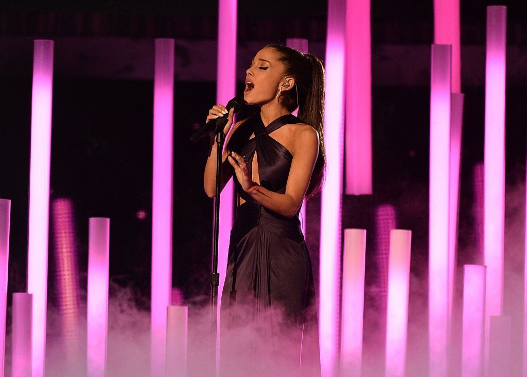 Ariana Grande accuses Grammys producer of lying after pulling out of show