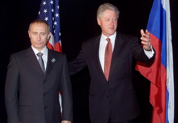President Clinton and Vladmir Putin