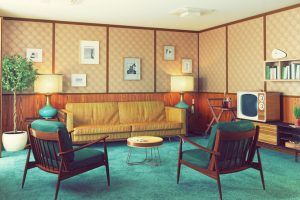 This is What the Average American Home Looked Like Over the Decades