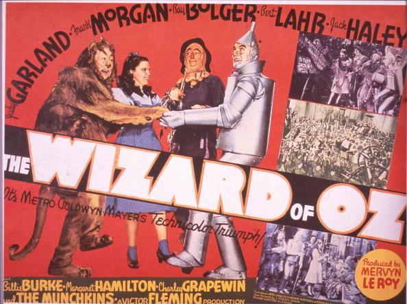 Lobby card from The Wizard of Oz