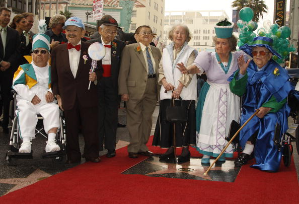 The munchkins from the wizard of oz