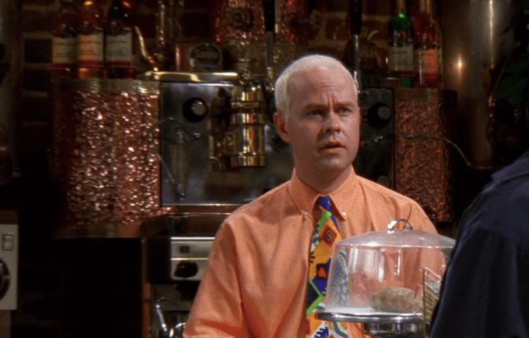 Gunther (James Michael Tyler) on Friends