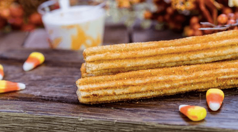 Disneyland Halloween Churro