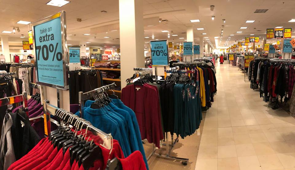Herberger's Going out of Business Sale