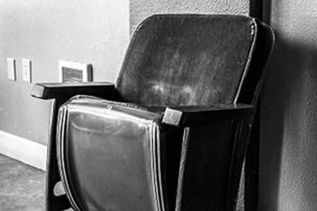 Hollywood Theater Seat
