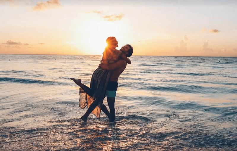 A happy couple at the Iberostar Grand Paraiso